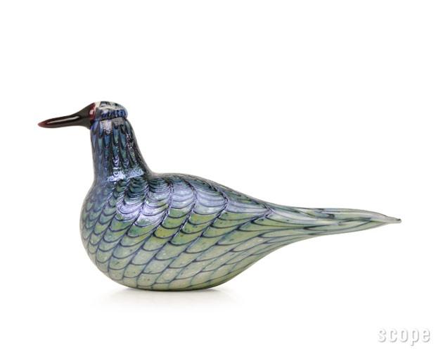 Birds by Oiva Toikka Rusee Grebe