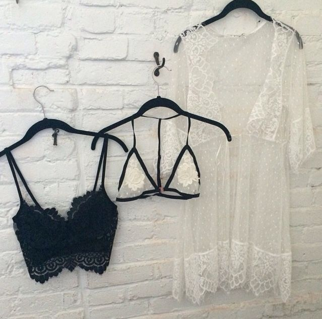 For Love and Lemons SHE'S A KNOCKOUT BRA, PEEK-A-BOO T BACK BRALETTE