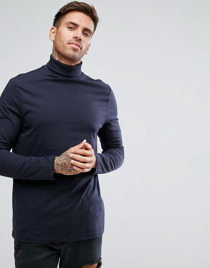 Male Fashion How High Roll Sleeves