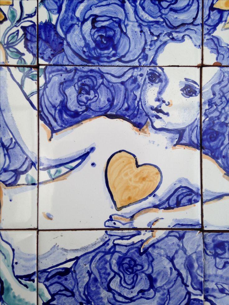 Azulejos. 15x22,5 , cm. Fragmento. Marta Day.