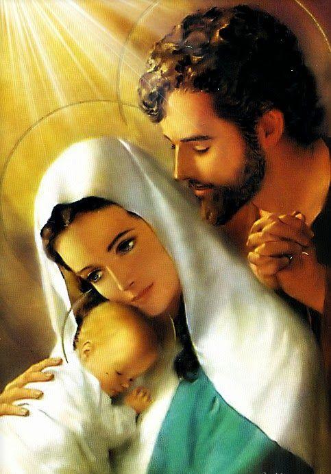 Resultado de imagem para sagrada familia jesus maria josé