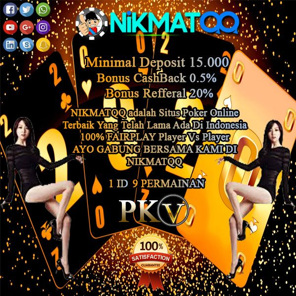 Nikmatqq Situs Poker Online Terbaik Poker