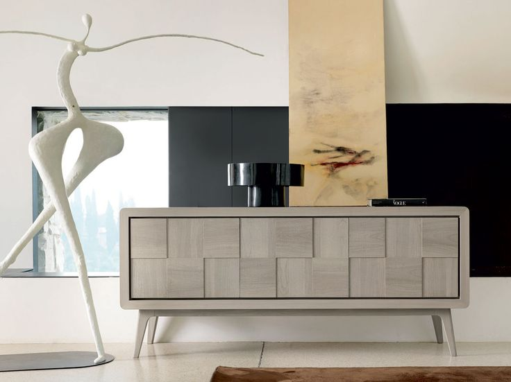 12 best wood modern sideboards buffet images on pinterest. Black Bedroom Furniture Sets. Home Design Ideas