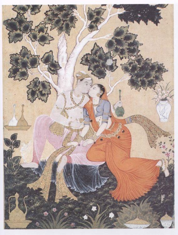 art erotic illuminated india kama sutra