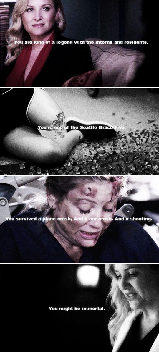 Arizona Robbins #greysanatomy