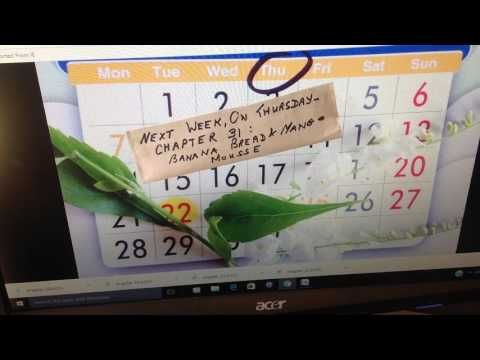Next Week, On Thursday: Chapter 31 - Banana Bread and Mango Mousse - YouTube