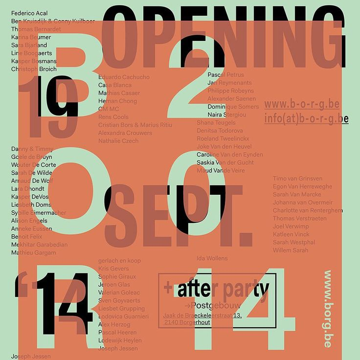 Playful and intriguing typographic arrangements by @maxim_leurentop