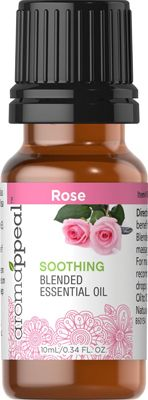 Rose Blended Essential Oil 10 ml  $9.00