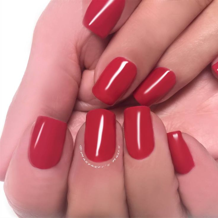 Start the working year with a fierce new colour #margaretsnails