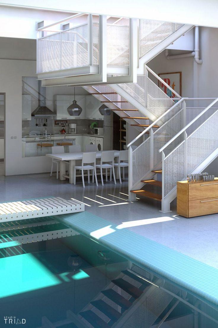 Home Design Beachy Home Decor House With Indoor Pool Home Interior.com Free Form Pool Designs 852x1280 Designs For Homes Interior Indoor Pools Designs