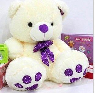18 best teddy bear images on pinterest teddybear teddy bears and plush bear with purple tie altavistaventures Gallery