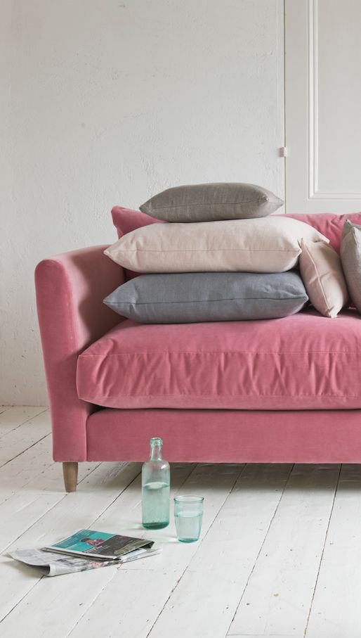 14 best Dusty rose images on Pinterest | Pink couch, Dusty pink and ...