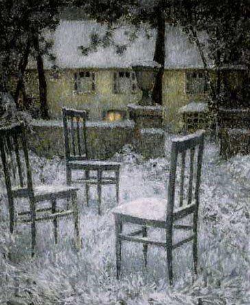 Henri le Sidaner, Snow, 1924
