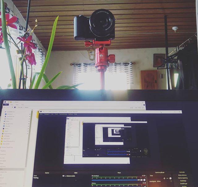 Inspelning pågår... #vlogg #me #creative