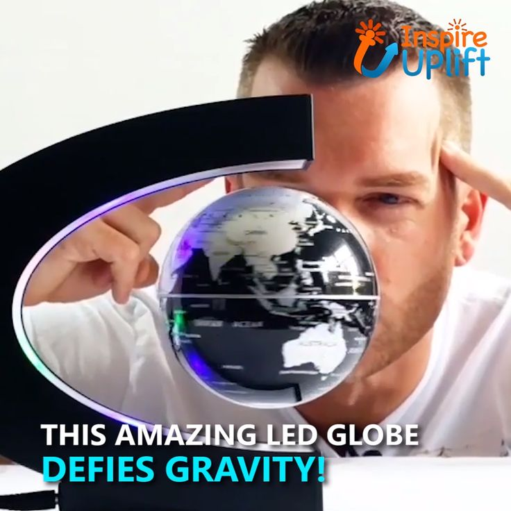 LED Floating Globe Lamp 😍