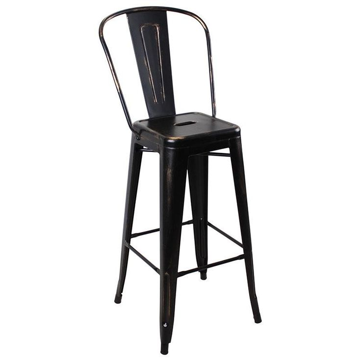 Industrial Stool Chair - inart