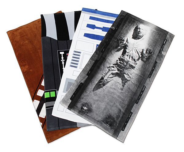 Star Wars Towels. Now the force will be with you as you dry yourself off.