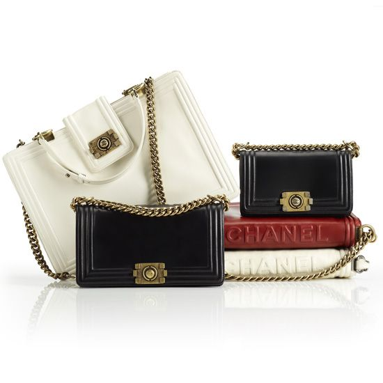 """@CHANEL - Boy Bag Collection. F/W 2011  (My goal is to get one by the end of next month!) ... Like Mimi says, """"MAKE IT HAPPEN!"""""""