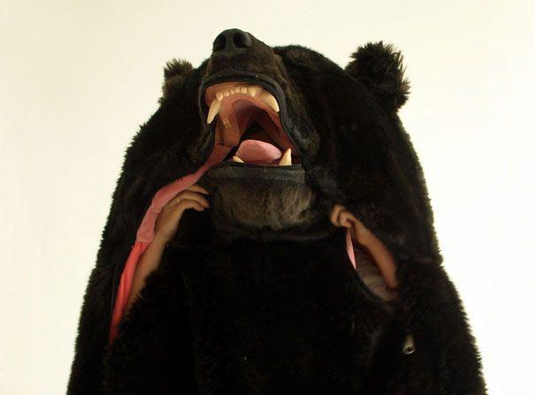 le sac de couchage ours pour ne pas être dérangé pendant la nuit  2Tout2Rien