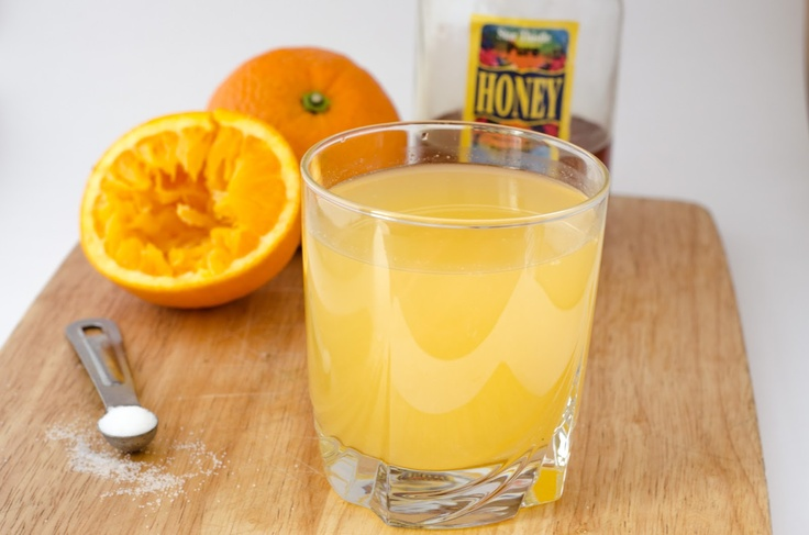 Electrolyte solution recipe adult
