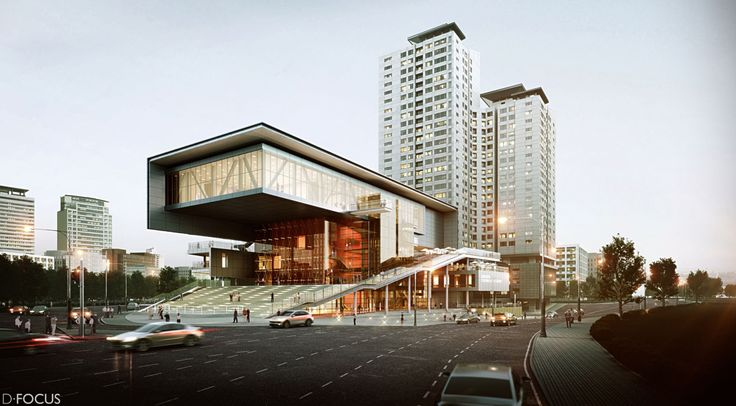 CGarchitect - Professional 3D Architectural Visualization User Community | Cultural Arts Center