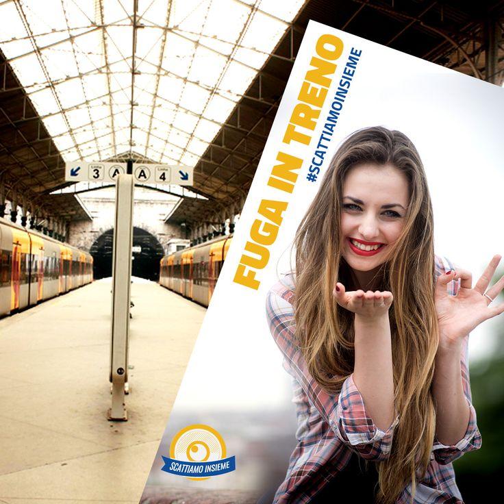 La signora Guendalina sta scappando. Ma è salita sul treno per Moncalieri o su quello per Rivarolo? Alice e Mauro stavolta devono dividersi! http://www.scattiamoinsieme.com/web/fuga-in-treno/ #scattiamoinsieme #alice #mauro