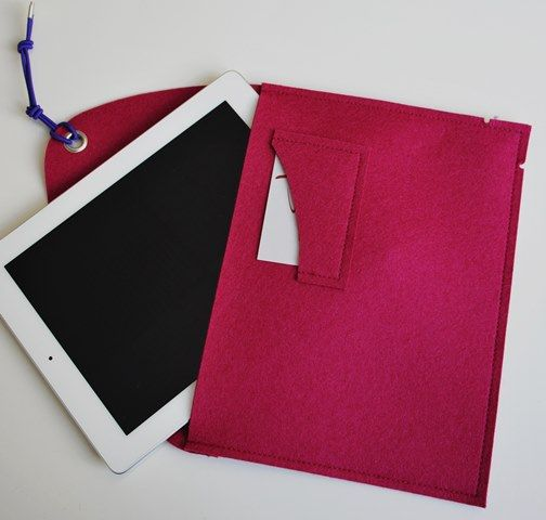 It's time for a raspberry iPad cover this summer