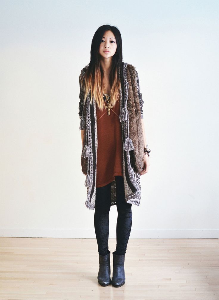 132 best How to combine skirts, tights and boots images on ...