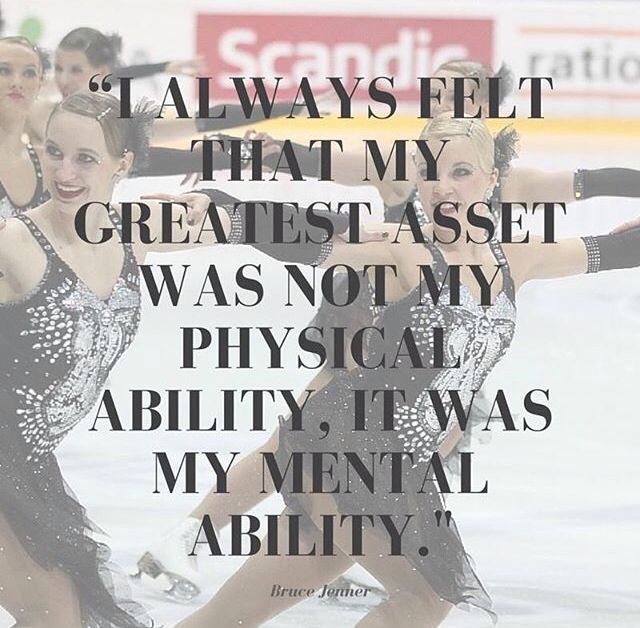 """""""I always felt that my greatest asset was not my physical ability, it was my mental ability."""""""