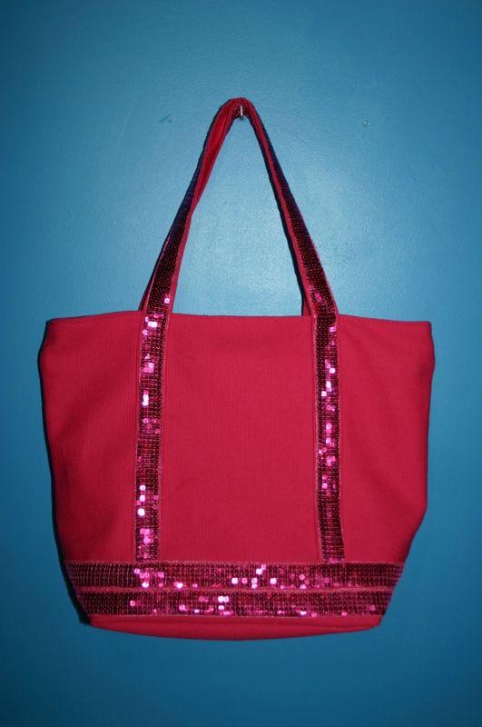 Tuto sac cabas avec aimant ou fermeture