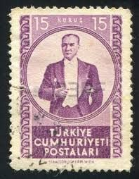 Turkey Stamp 1972 - President Mustafa Kemal Ataturk