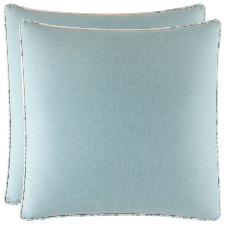 Stone Cottage Bristol 2-piece Euro Sham Set, Blue