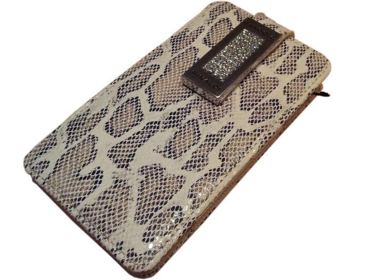 Classical and trendy snake pattern Cango & Rinaldi mobile phone bag.