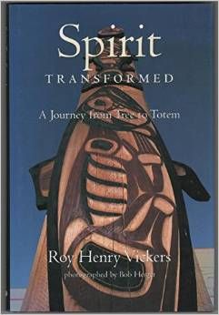 A book about the transformation of a tree to a totem.