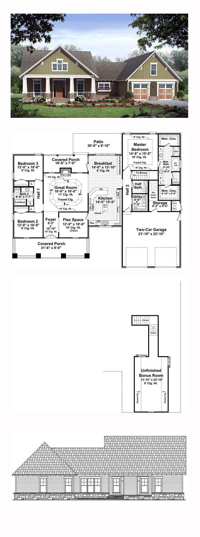 1000 Ideas About Bungalow House Plans On Pinterest