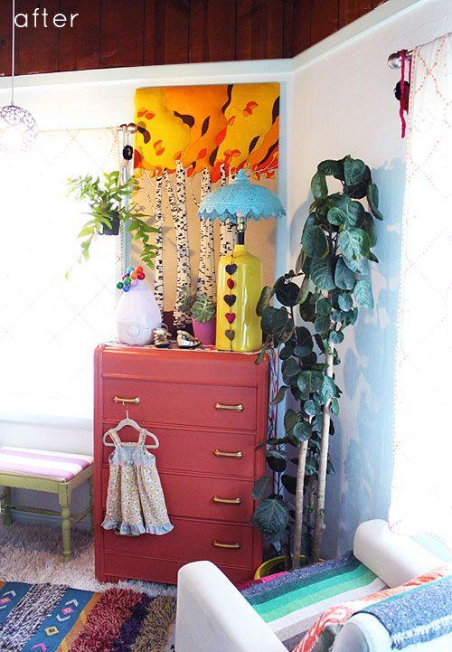 The bohemian chic nursery :D