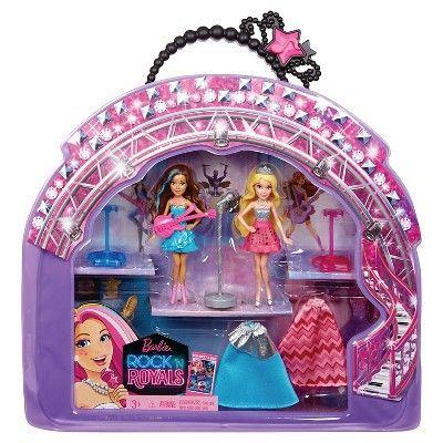 Barbie Rock 'N Royals Small Doll Playset