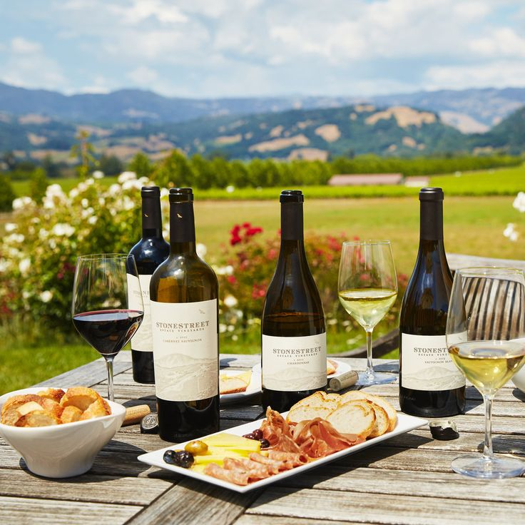 Plan your trip to a scenic swath of Sonoma wine country boasting some of California's biggest viticulture names
