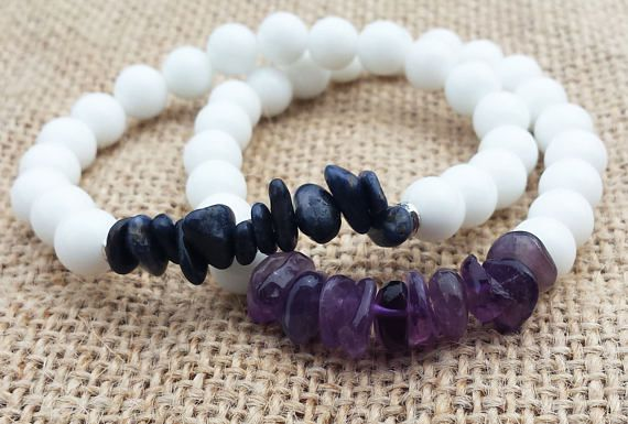 Check out this item in my Etsy shop https://www.etsy.com/uk/listing/292872957/christmas-gifts-amethyst-bracelet