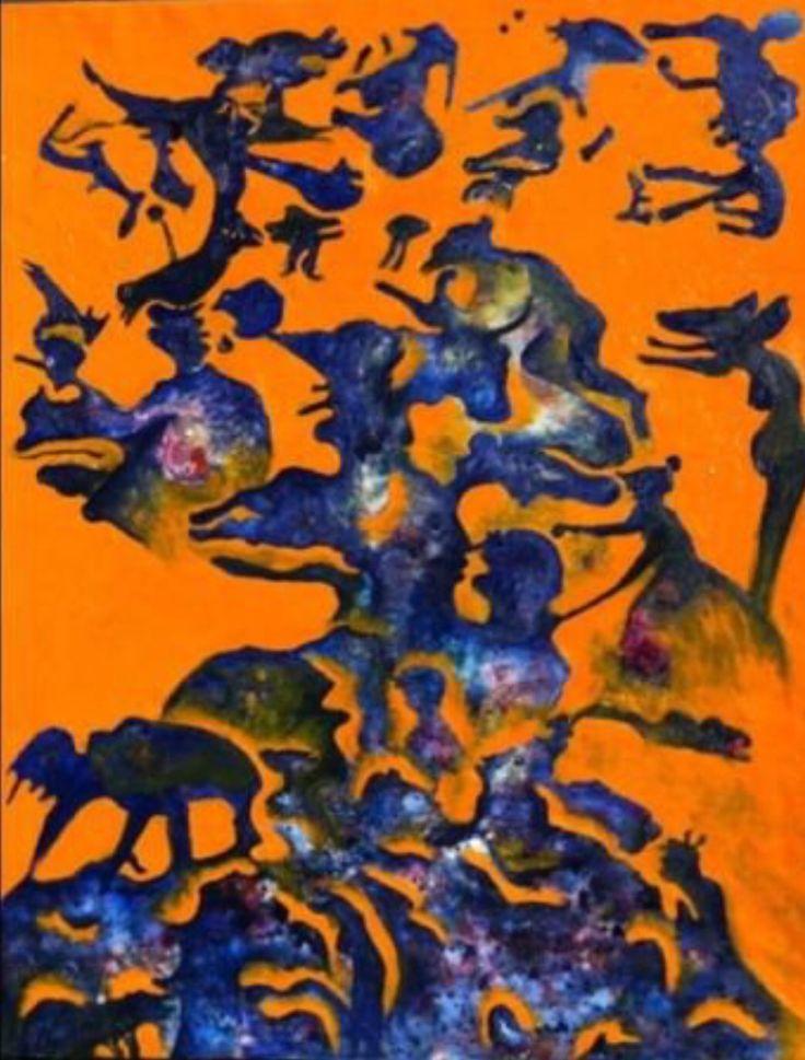 Luis GERALDES. Oil on canvas. 152x122 cm.