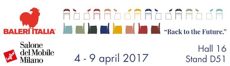 Baleri Italia _ Salone Internazionale del Mobile _ Hall 16 Booth D51