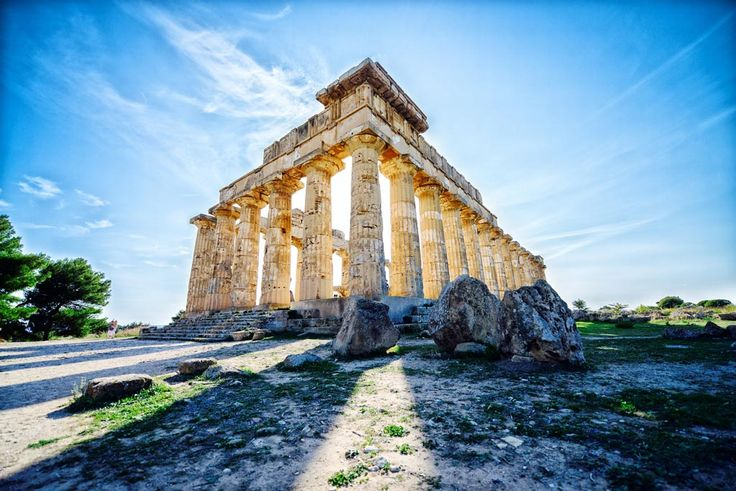 Day 3 - Sicilian Secrets Tour of Sicily Selinute, the largest Archaeological Park in whole Mediterranean and World Heritage Site! Surrounded by a splendid landscape near the African Sea, we will walk among the rests of the ancient Greek city.