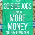 30 Side Jobs to Make Money & Help Pay Down Debt