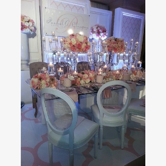 Breathtaking display by @Rachel A. Clingen Wedding & Event Design #WedLuxeShow #Decor