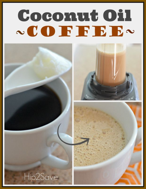 Coconut Oil Blended Coffee (+ Bulletproof Coffee)