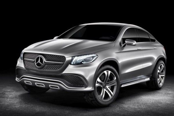 2014 Mercedes Benz Coupe SUV Side Images 600x400 2014 Mercedes Benz Coupe SUV Review and Design
