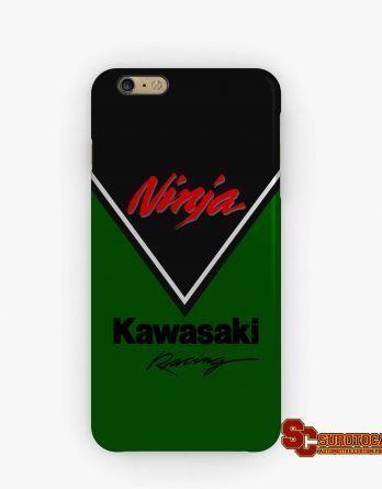 Kawasaki Ninja Racing | Apple iPhone 5 5s 5c 6 6s 7 Plus Samsung Galaxy S4 S5 S6 S7 EDGE Hard Case Cover