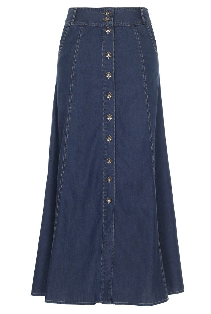 Button Through Denim Skirt  $39
