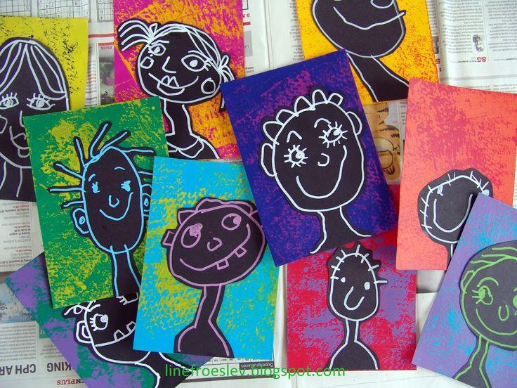 Den her idé har jeg lige delt med børnehaverne og SFOérne i mit lokalområde som optakt til den årlige fælles børneudstilling i vores s...