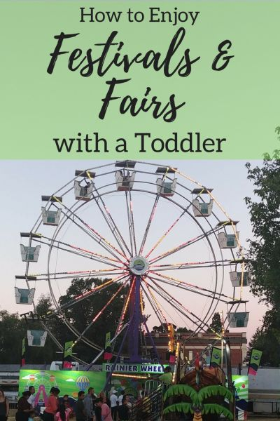 How to Enjoy Festivals & Fairs with a Toddler -Summer Events at Tickled Scarlet Blog